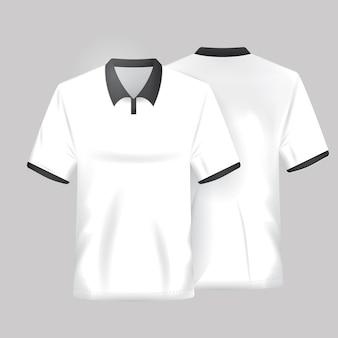 Белая рубашка шаблон