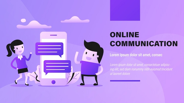 オンラインコミュニケーションバナー