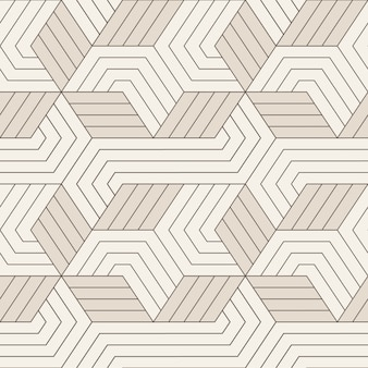 Вектор бесшовные модели бесшовные с симметричными геометрическими линиями. повторяя геометрические плитки.