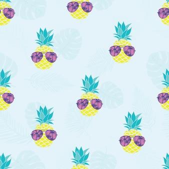 パイナップルグラスパターン