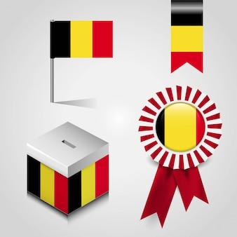 ベルギーの旗のデザイン