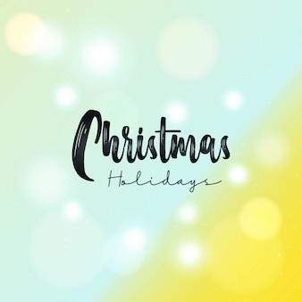Рисованной рождественские фон