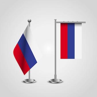 Россия флаг страны на полюсе