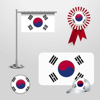 Флаг страны южной кореи