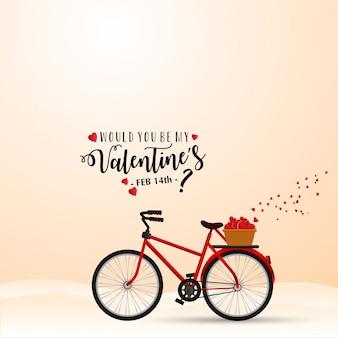幸せなバレンタインデーのベクトル