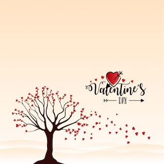 Счастливый день святого валентина вектор