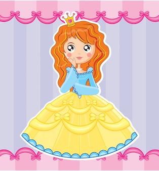 Девушка принцессы