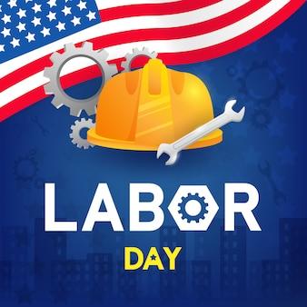 労働者の日の背景デザイン
