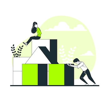 ビルディングブロックの概念図
