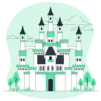 城の概念図