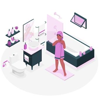 浴室概念図にて