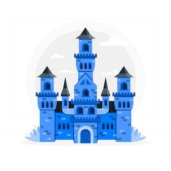 Иллюстрация концепции замка