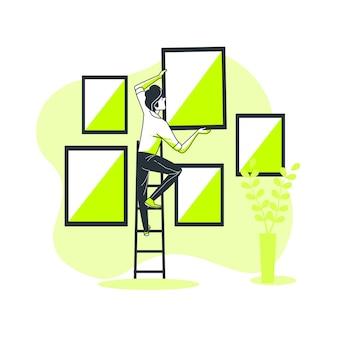 Иллюстрация концепции изображения