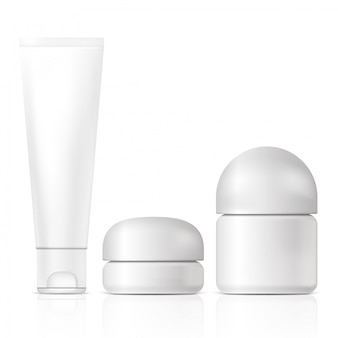 Чистые косметические продукты. иллюстрация изолированы. графическая концепция для вашего дизайна