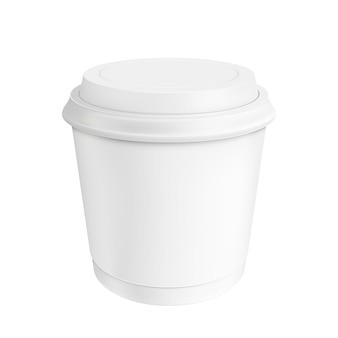 コーヒーカップ。イラストの分離