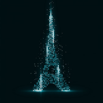 パリの技術イメージ