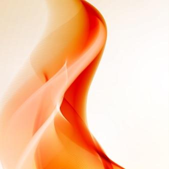 抽象的な火の炎のイラスト。カラフルな背景、アートコンセプト