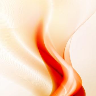 抽象的な火の炎