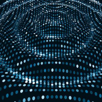 デジタル波背景