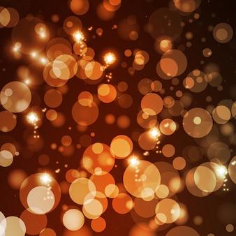 Абстрактный фон огни