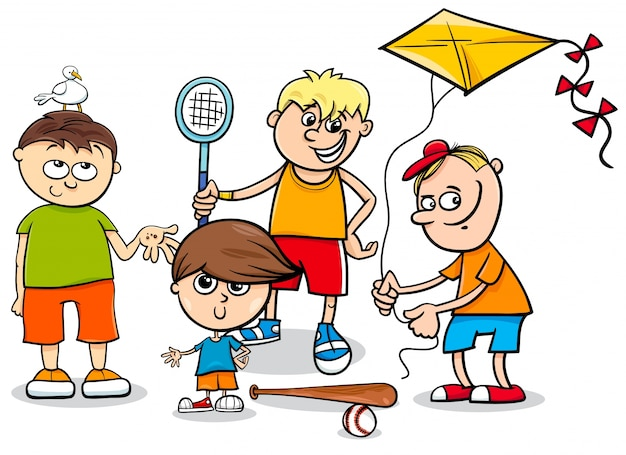 Дети мальчиков дети персонажи мультфильм