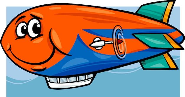 Иллюстрация джеппелинский дирижабль