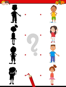 Теневая активность с детьми