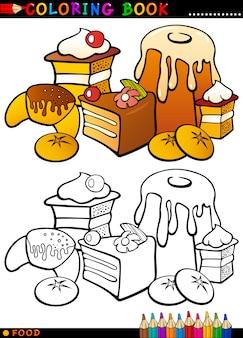 着色のためのケーキおよびクッキー
