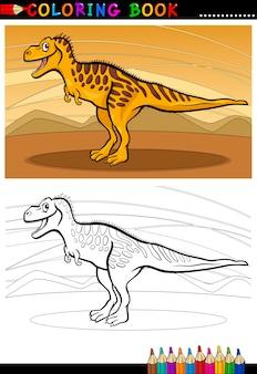 タルボサウルス恐竜