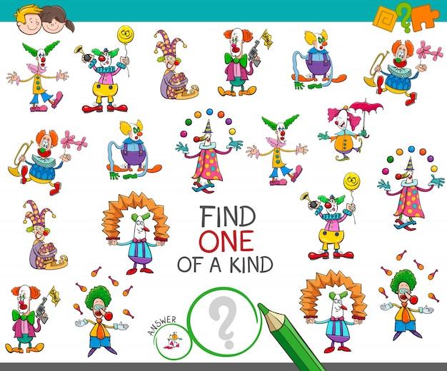 Найти одну из видов игры с клоунскими персонажами