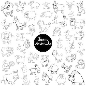 Набор символов для животных животных