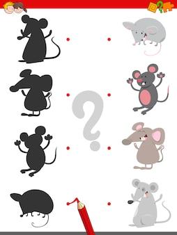Теневая игра с мышами