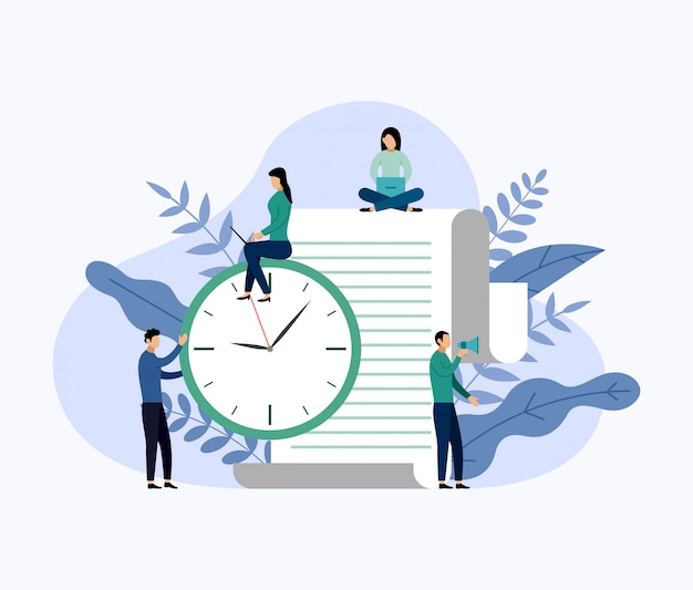 Тайм-менеджмент, концепция расписания