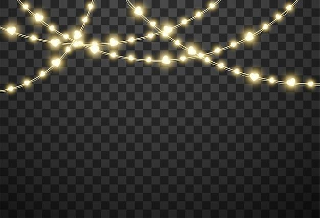 Валентина огни изолированные векторная иллюстрация