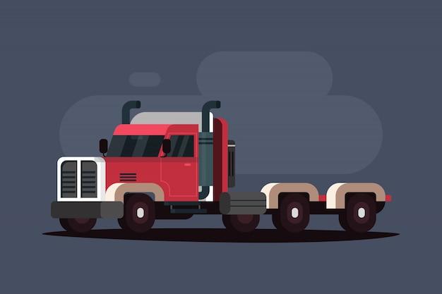 アメリカの貨物トラック