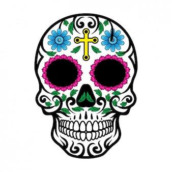 メキシコのスカルデザイン