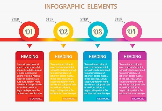 Бизнес инфографики шаблон, бизнес-презентация