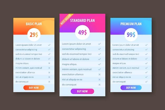 Креативный шаблон для бизнес-плана