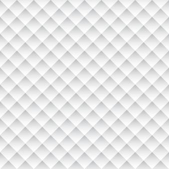 白の幾何学的な質感、シームレスなパターン背景