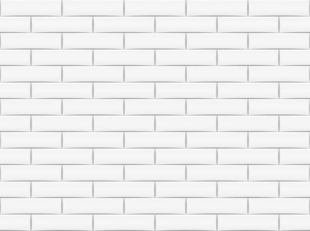 セラミックレンガタイル壁のシームレスなパターン背景壁紙