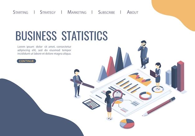 Векторная иллюстрация концепция бизнес-аудита. профессиональные аудиторские консультации. изометрический стиль