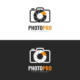 フォトスタジオのロゴデザイン。
