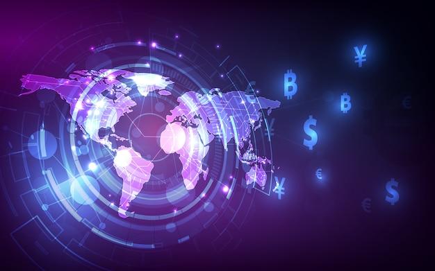 Перевод денег. глобальная валюта.