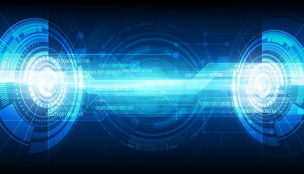 抽象的なデジタル技術の背景