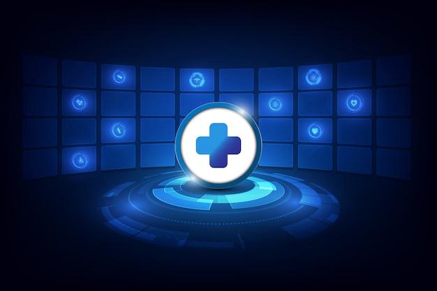 医学、薬、ビタミン、オープンカプセルのベクトル図