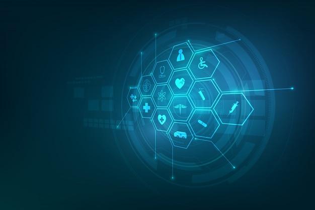 医療アイコンパターン医療革新の背景
