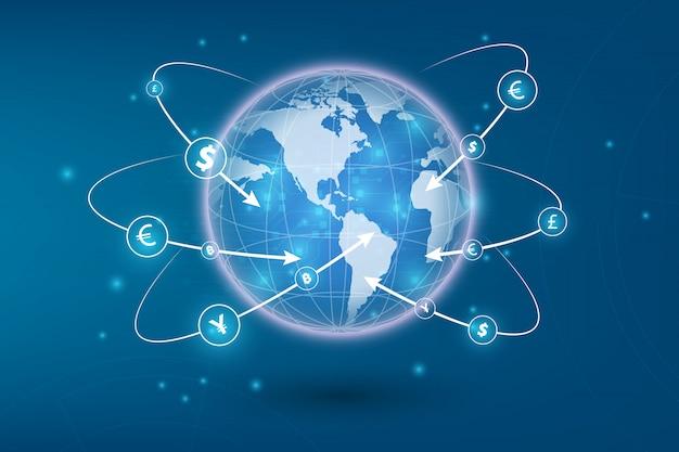 国際通貨での送金