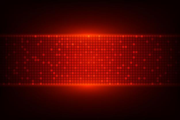 赤いライトと暗い背景