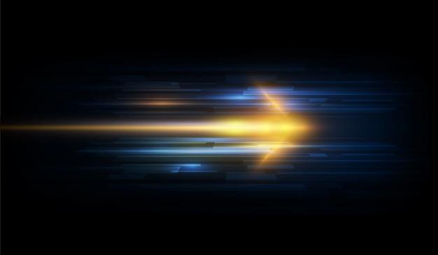 Скорость движения шаблон дизайна фона концепции