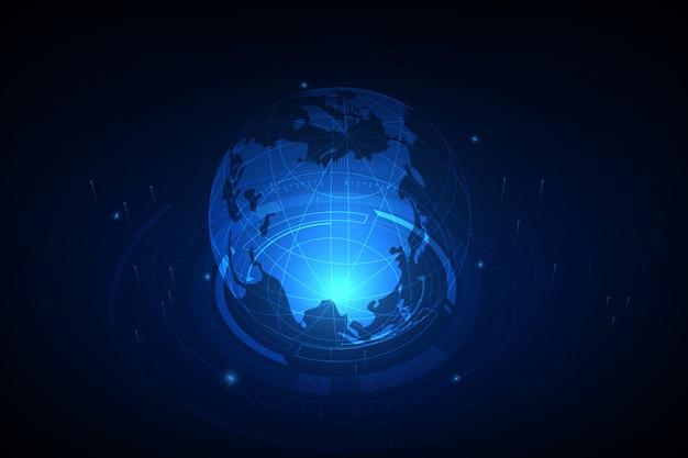 グローバルビジネスのベストインターネットコンセプト